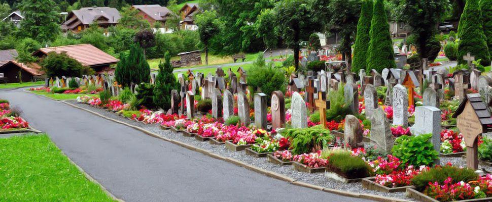 Основные виды надгробных памятников