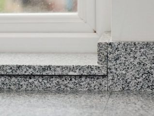 Преимущества подоконников из камня