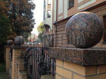 Гранитные шары фото (28)