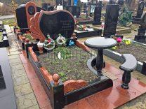 Столики и лавки на кладбище фото (3)