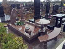 Столики и лавки на кладбище фото (5)