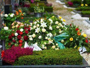 Благоустройство могилы своими руками
