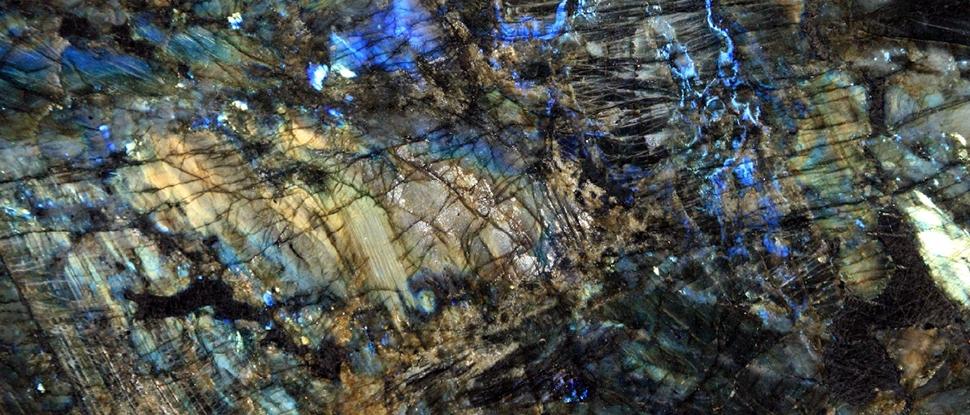 Лабрадорит текстура камня
