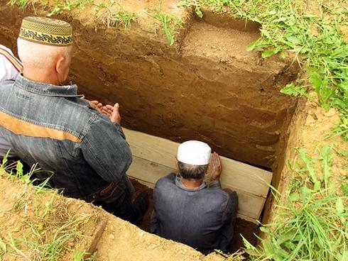 Захоронение мусульман