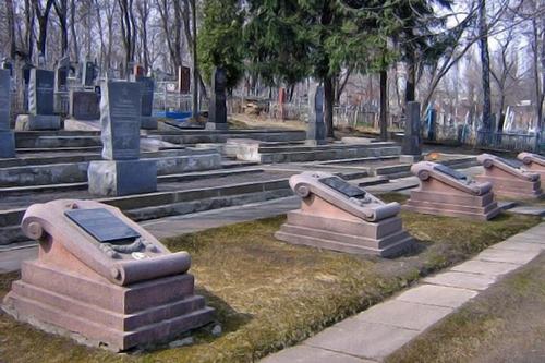 Куренёвское кладбище памятники